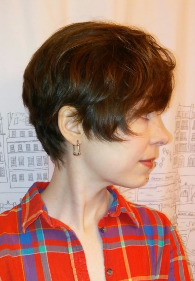 My original Long Pixie. One of my favorite haircuts EVER.