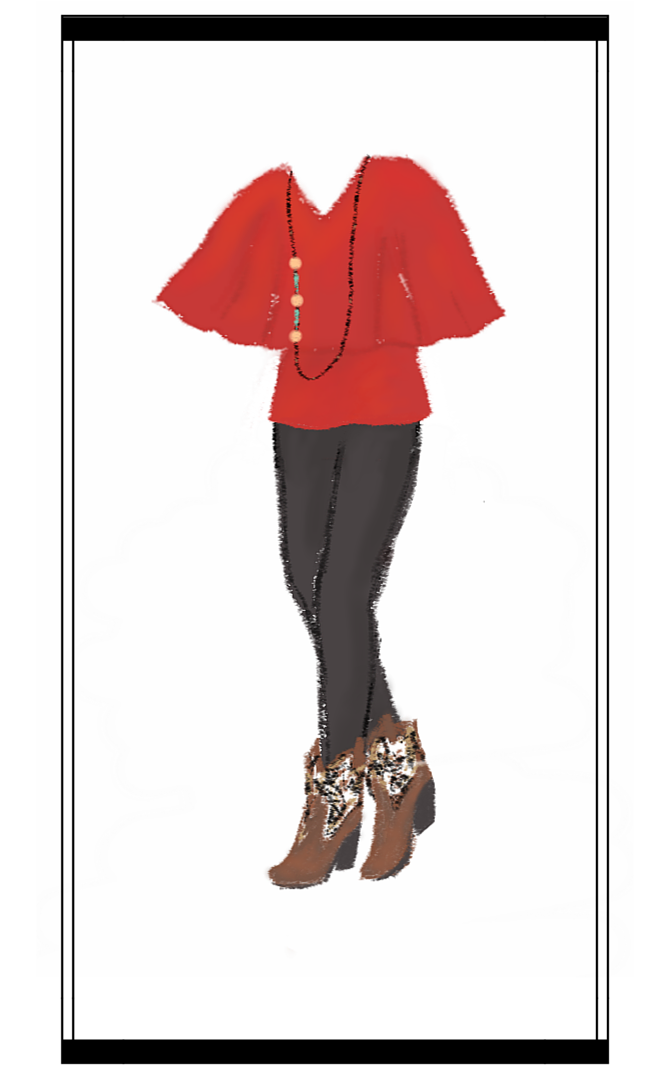 Sarah's outfit