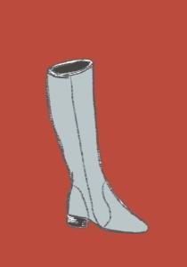 Gray Boot