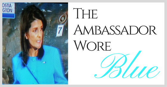 The Ambassador Wore
